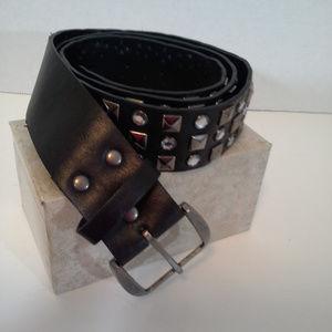 YMI Jeanswear womens belt Size 9 35 33-37 in Bling